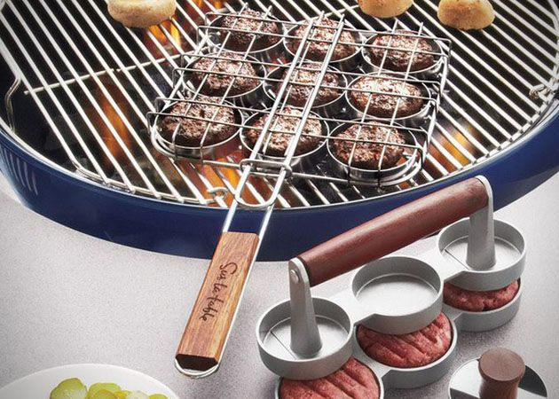 Grill Sliders With This 3 in 1 Tool Kit