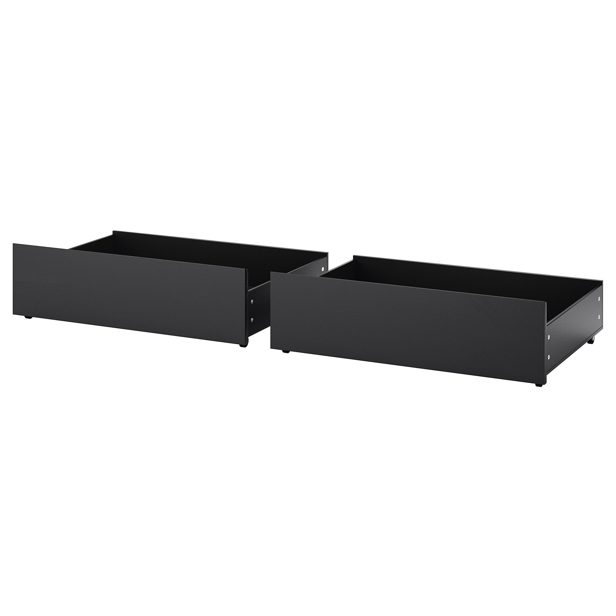 Malm Underbed Storage Box For High Bed Black Brown Queen King Under Bed Storage Malm Bed Malm