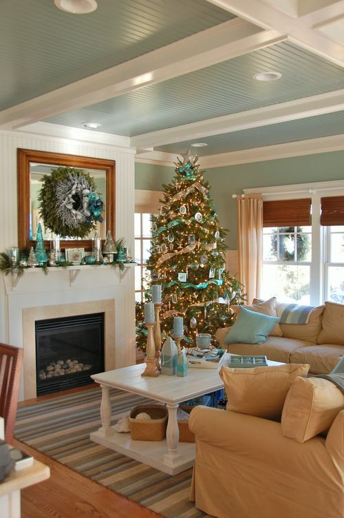 Three Haute Mamas Christmas Living Rooms Home Decor Home