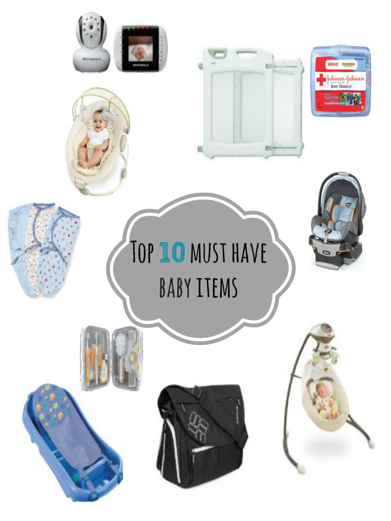 Our Top 10 Must Have Baby Items | Baby items, Baby ...