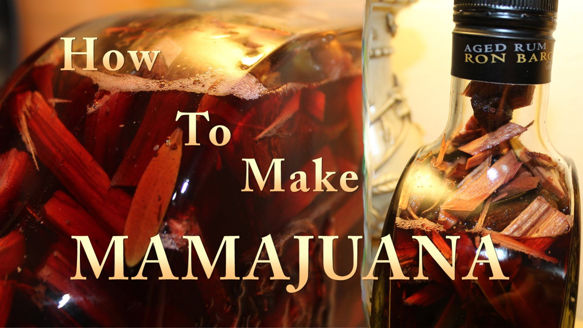 How To Make A Domincan Mamajuana Youtube Fun Drinks Alcohol Alcoholic Drinks Liquor Drinks