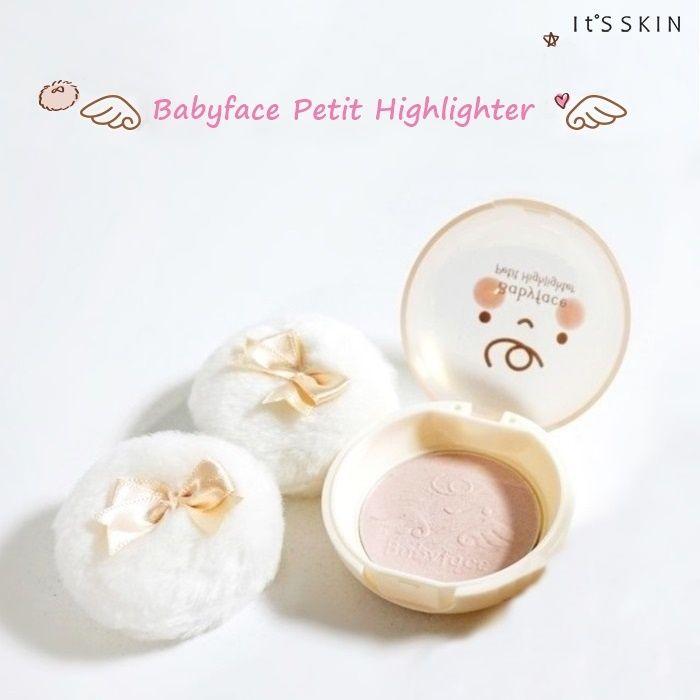Znalezione obrazy dla zapytania IT'S SKIN Babyface Petit Highlighter 01