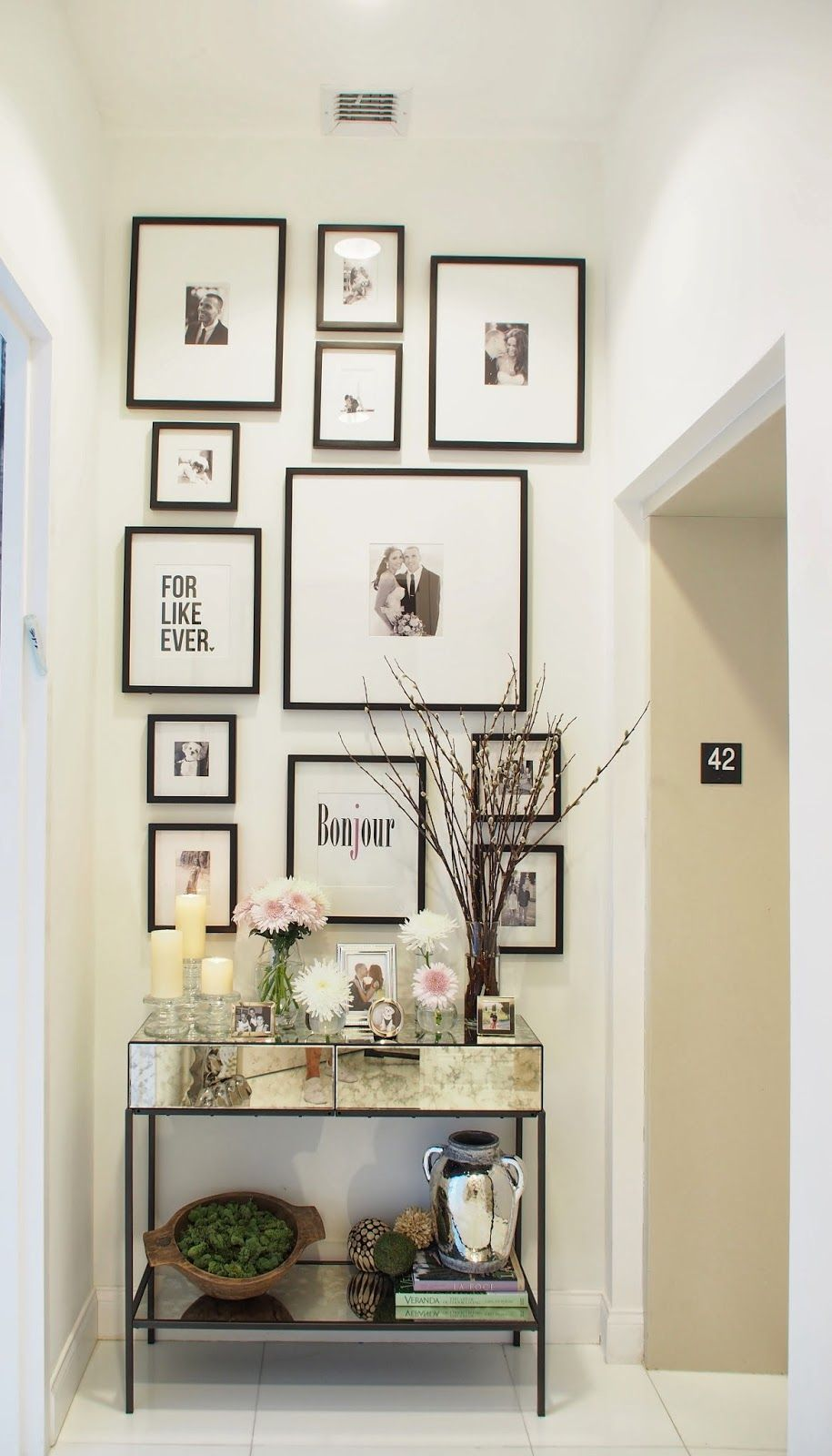 Spring Entryway Decor With Images Entryway Wall Decor Entryway Decor Small Entryway Decor