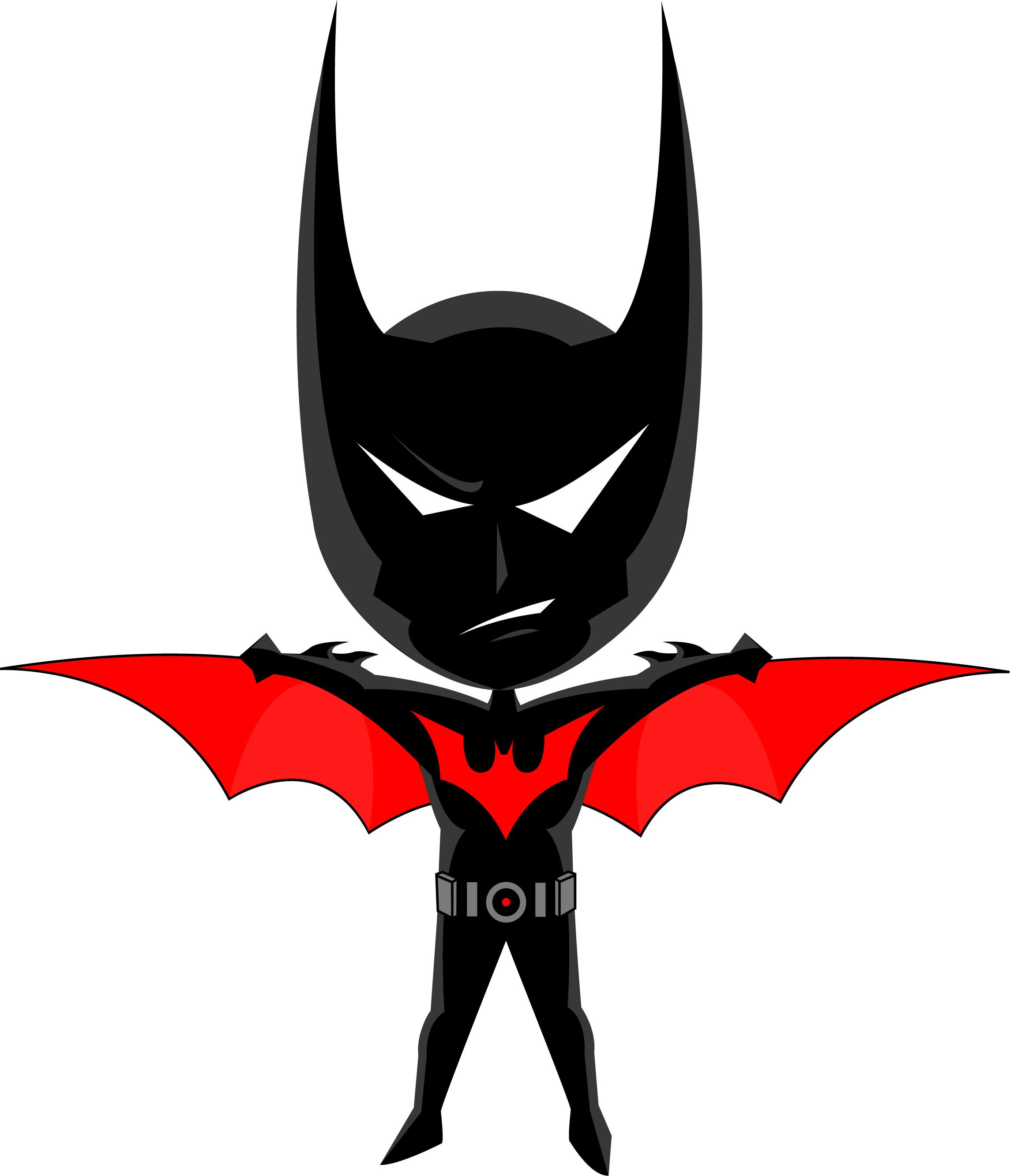 Chibi Batman Beyond By Masterrabbit On Deviantart Batman Beyond Batman Chibi