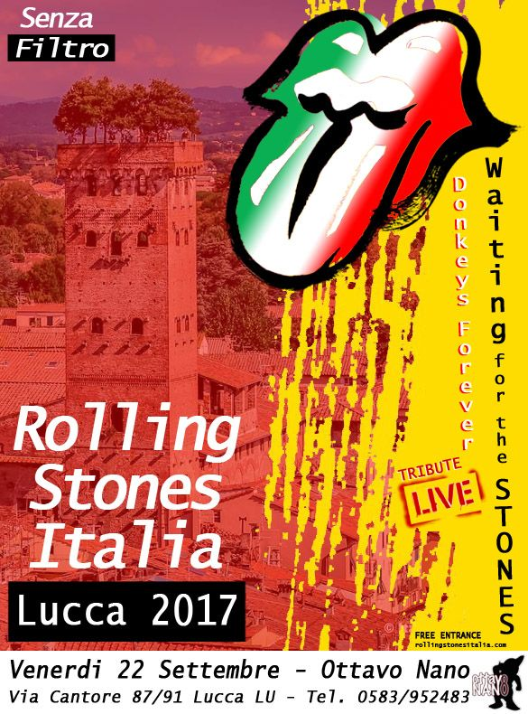 a756db0bd Lucca Italy travel and show info - The Rolling Stones No Filter Tour 2017