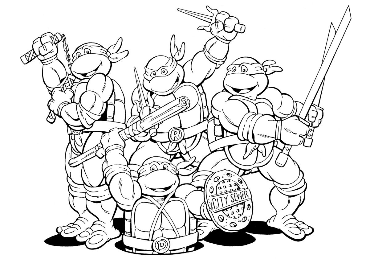 Tmnt Animation Ninja Turtles Tmnt Free Printable Coloring Page Turtle Coloring Pages Ninja Turtle Coloring Pages Cartoon Coloring Pages