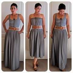 Easy Diy Maxi Skirt Or Dress (Two In One)