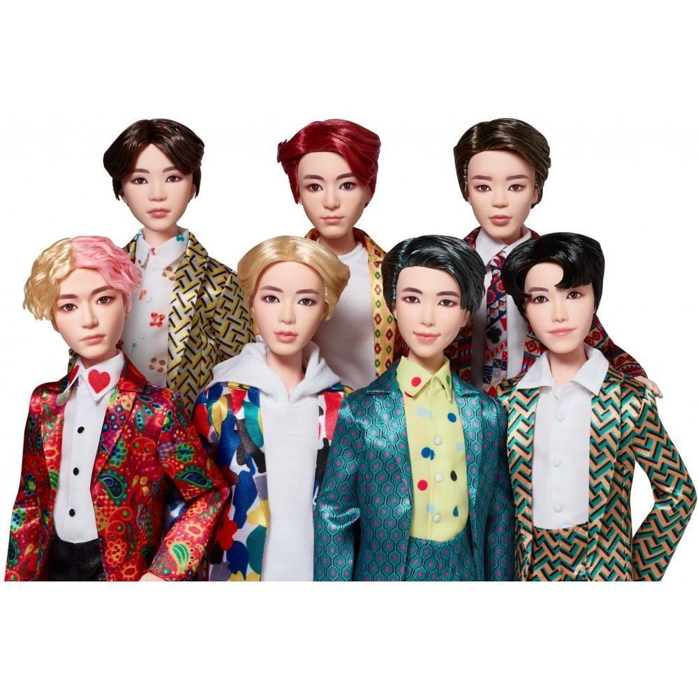 Bts Idol Doll 7 Pack Walmart Com Fashion Dolls Collector Dolls Boys Colored Hair