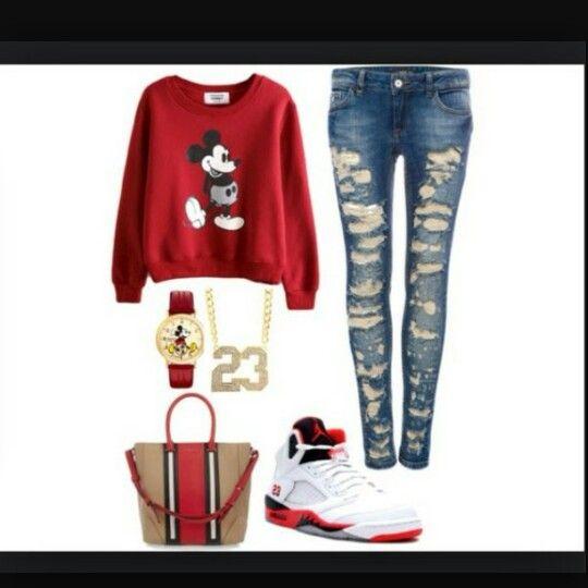 Mickey & Jordan (can't go wrong)