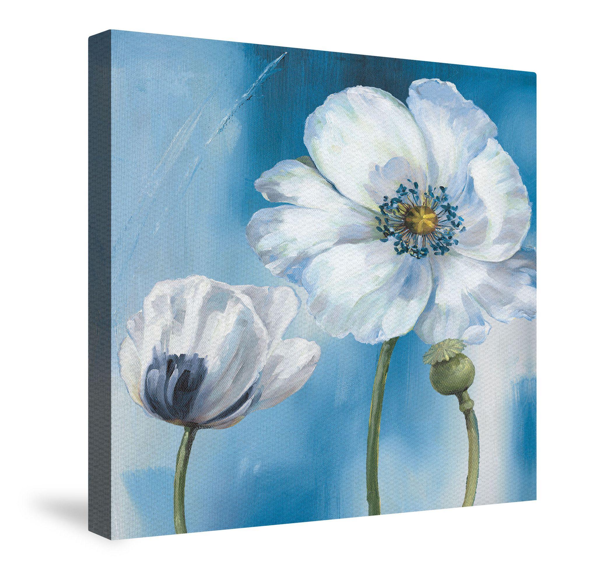 Blue dance iii canvas wall art pintura artistica pinterest