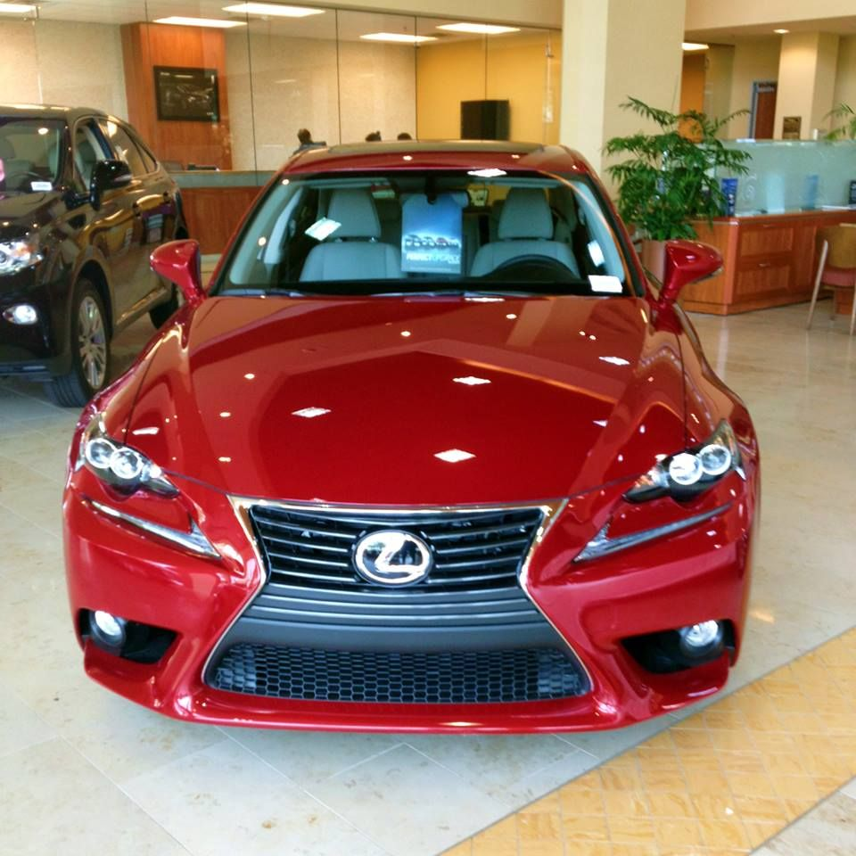 Make A Statement With A #Lexus IS 250.