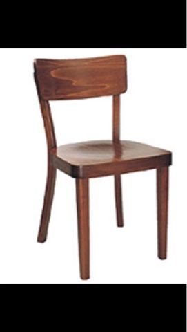 cafechairs: INSTITUTIONAL. 52 Thonet branded . Rombus . Sold.