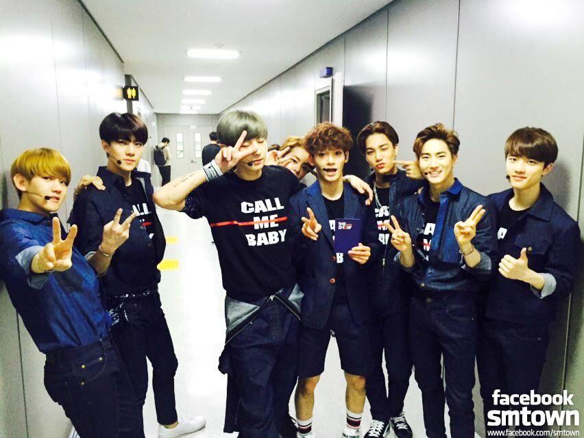 EXO - Xiumin, Chanyeol, Baekhyun, Sehun, Chen, Kyungsoo, Suho, Kai