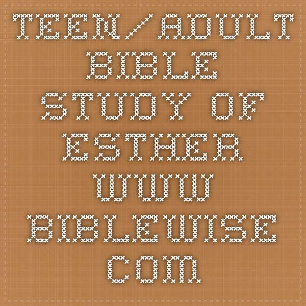 bible study Adult com