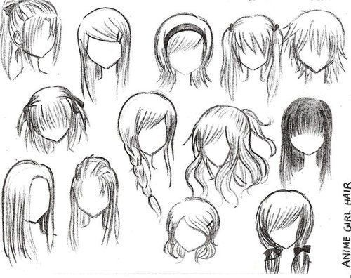 Some easy hairstyles 4 anime lovers