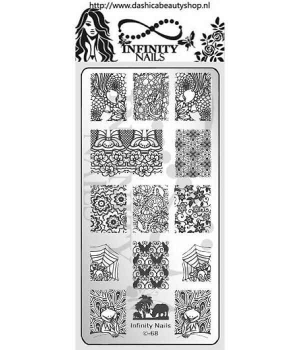 Infinity Nails Image Plate 68 | MY STAMPING PLATES | Pinterest ...