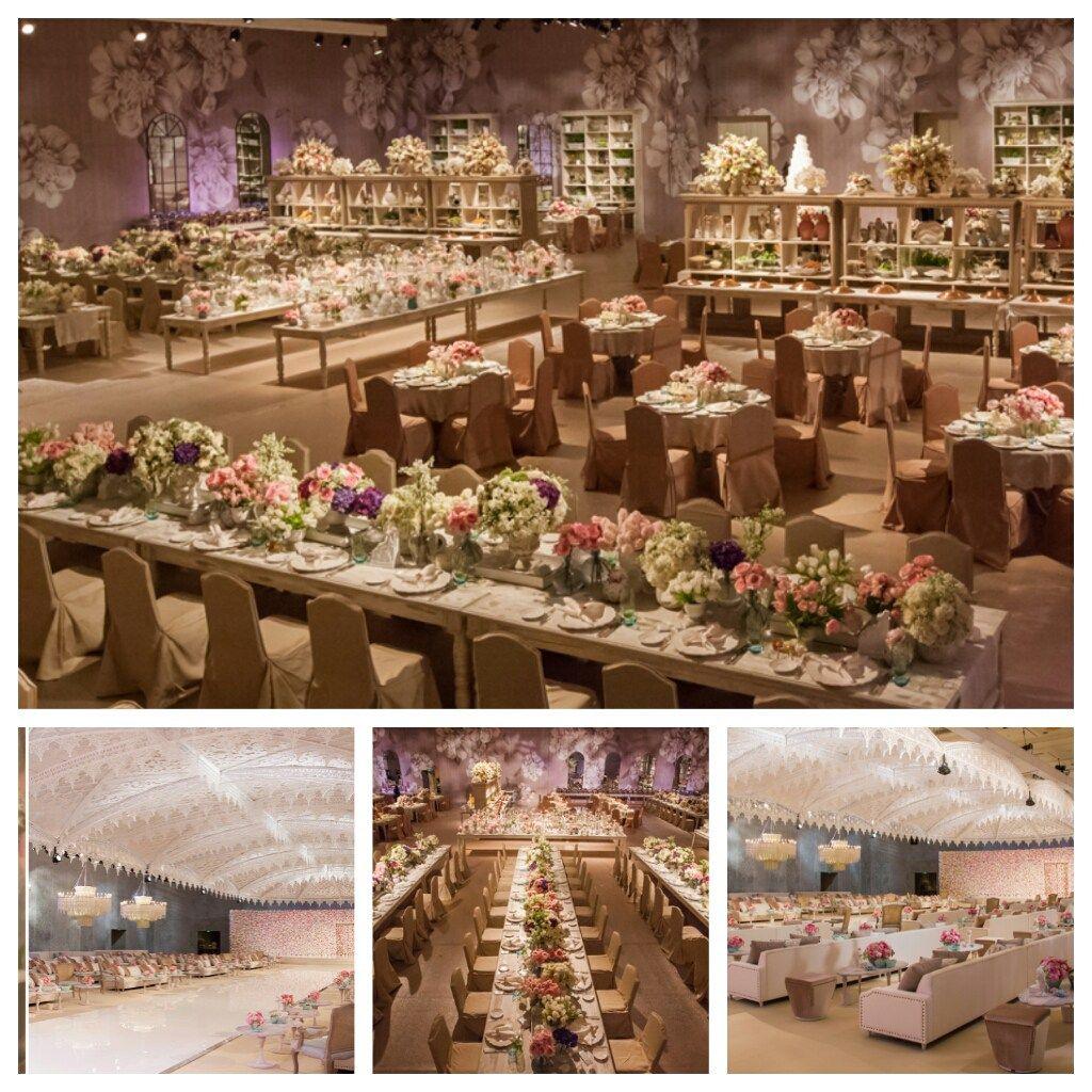 nigerian wedding reception decor by design lab