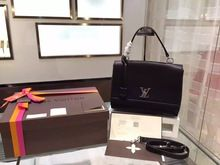 Louis Vuitton Lockme II Bag from the Spring Summer 2015 Collection, Noir Bags  2015 1ef95f306f