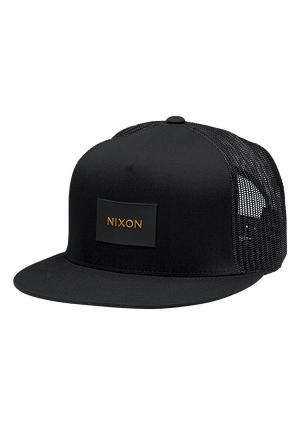 aed8363360053 Team Trucker Hat - Black   Gold