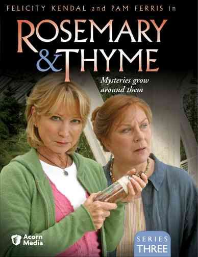 The popular British television series ROSEMARY & THYME takes