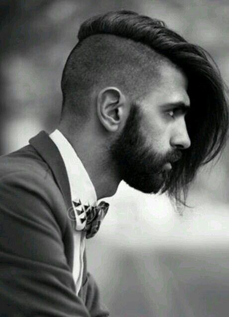 Undercut Gents Mens Long Hair Undercut
