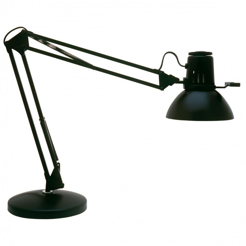 Dainolite REMIE II BK Desk Lamp   The Bold Industrial Style Of The  Dainolite REMIE II BK Desk Lamp Is Here To Add A Unique Touch To Your Desk.