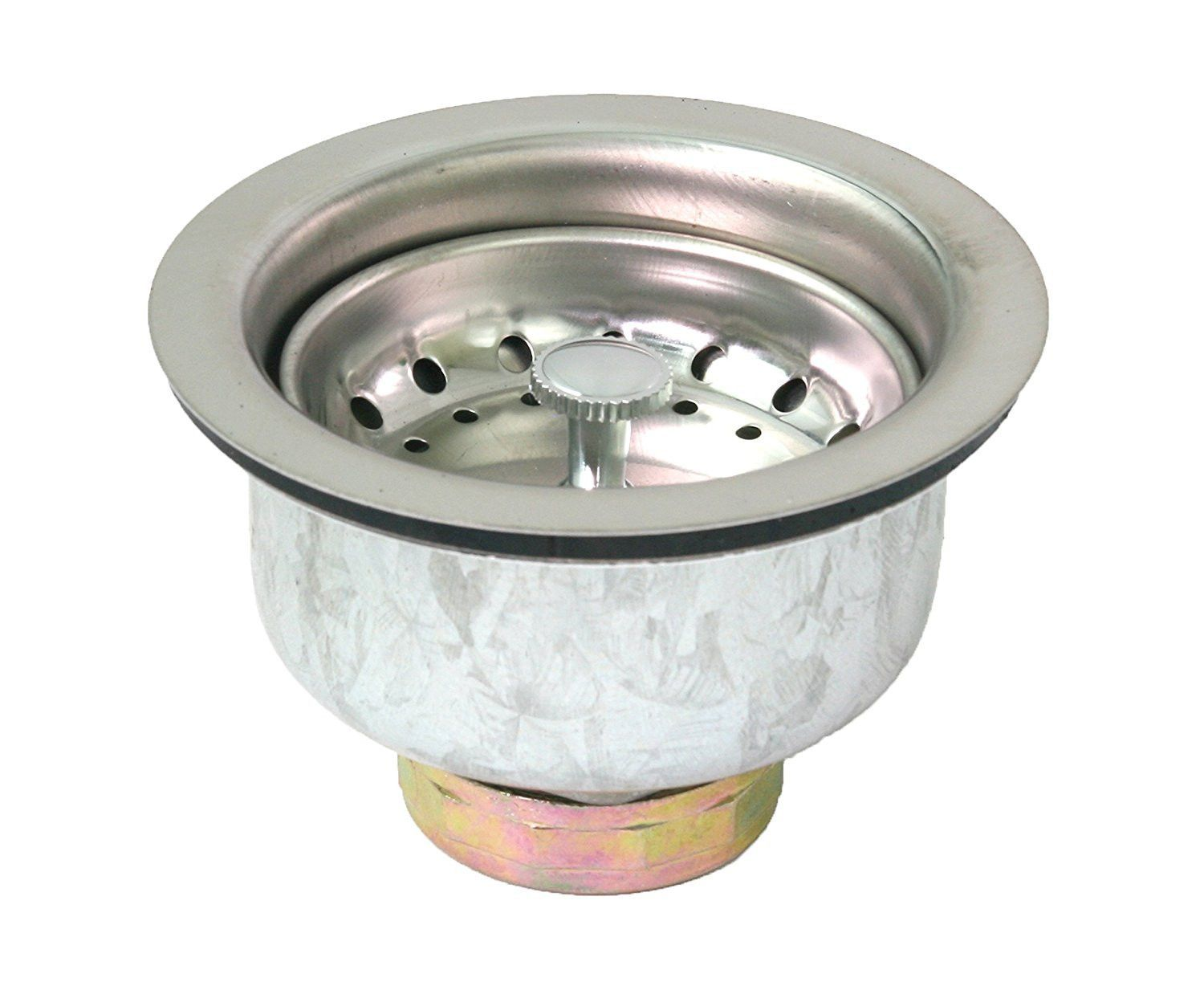 Deep 2 34 Stainless Steel Sink Strainer with