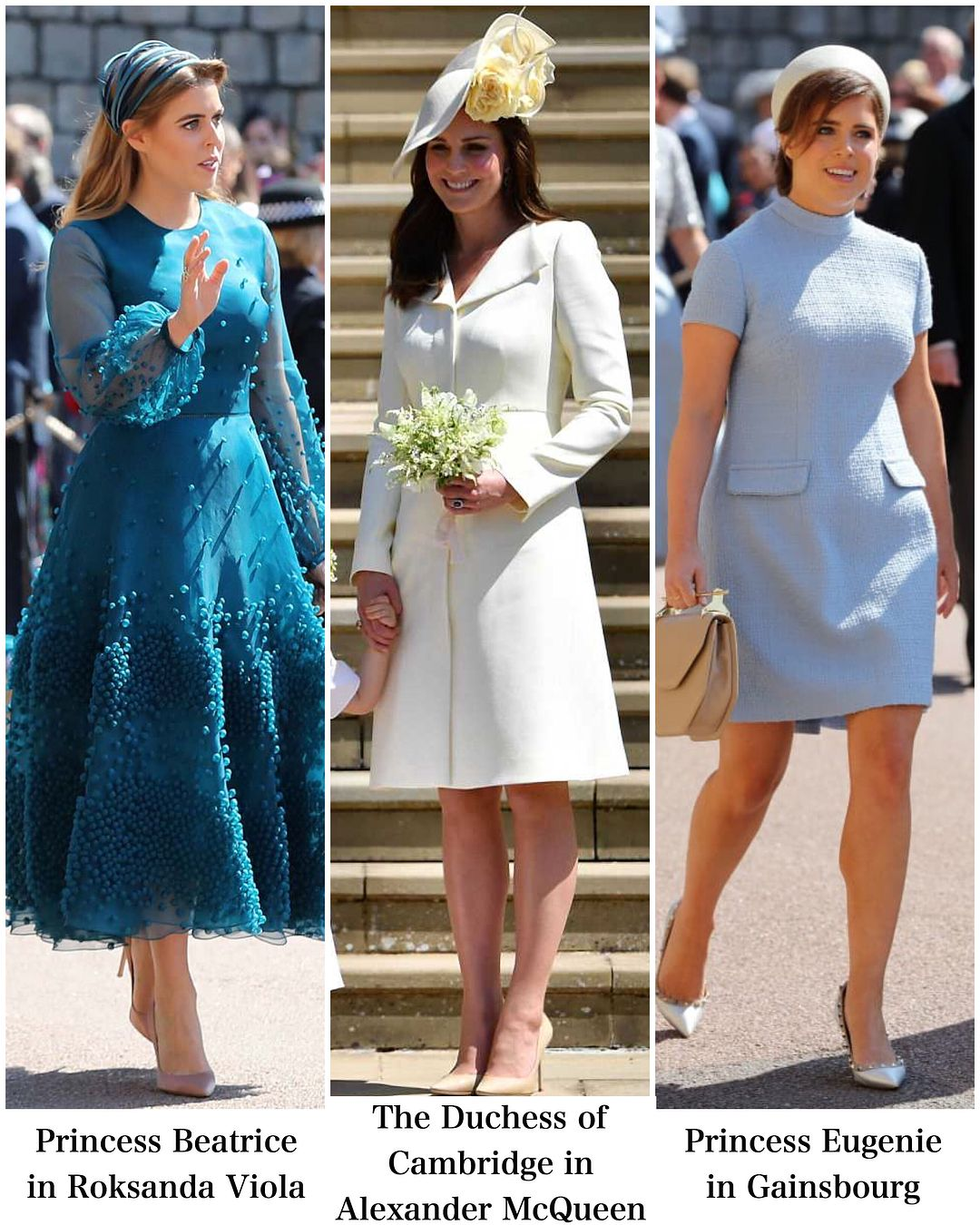 Recap Of Royal Wedding Guest Outfits Let Me Know Your Favourite