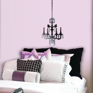 Black Chandelier Wall Stickers   Google Search