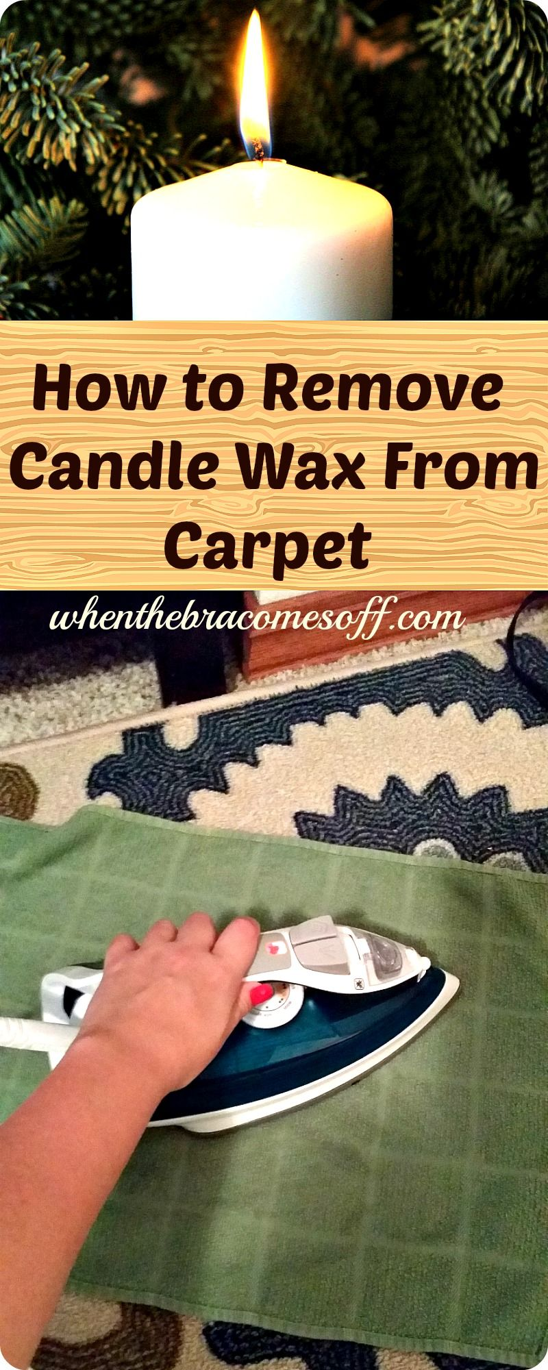 How To Remove Candle Wax From Carpet Home Tips Tricks