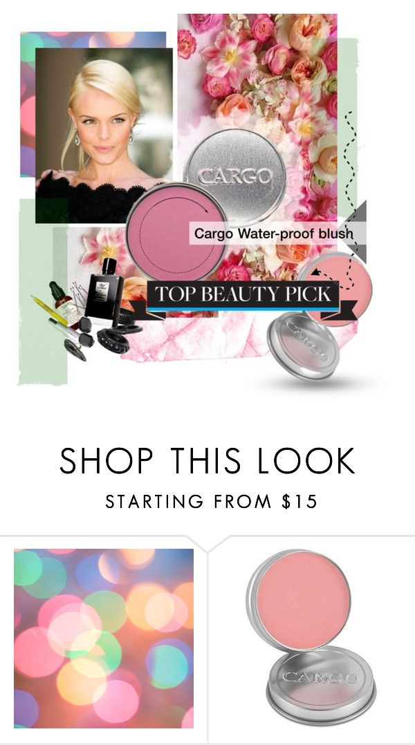"""My Favorite Summer Blush"" by end-of-fashion ❤ liked on Polyvore featuring beauty, myfavorite and cargo"