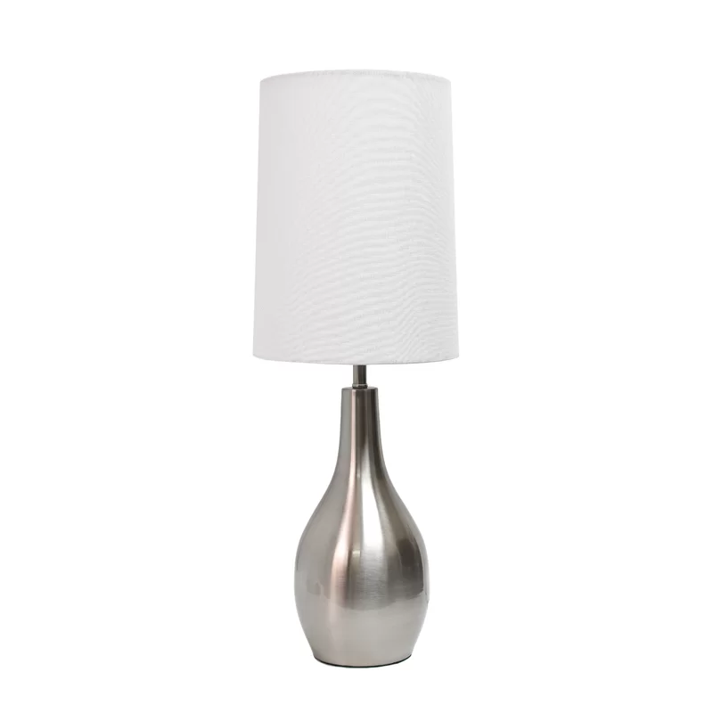 Anguiano 19 5 Table Lamp Nickel Table Lamps Table Lamp Lamp