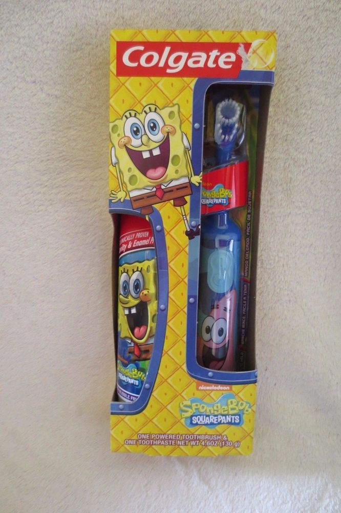 Colgate Spongebob Squarepants Patrick One Powered