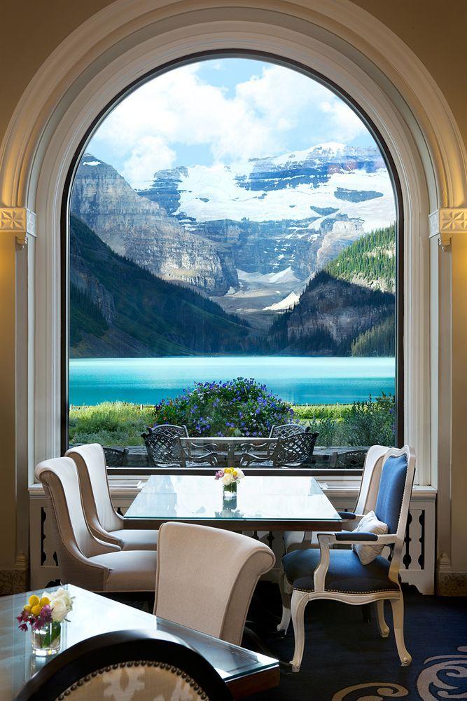 Fairmont Lake Louise Alberta Canada Luxury Hotel
