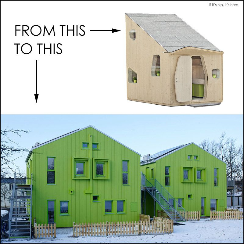 Tengbom Green Micro House Becomes Bokompakt Student Housing If It S Hip It S Here Micro House Student House House