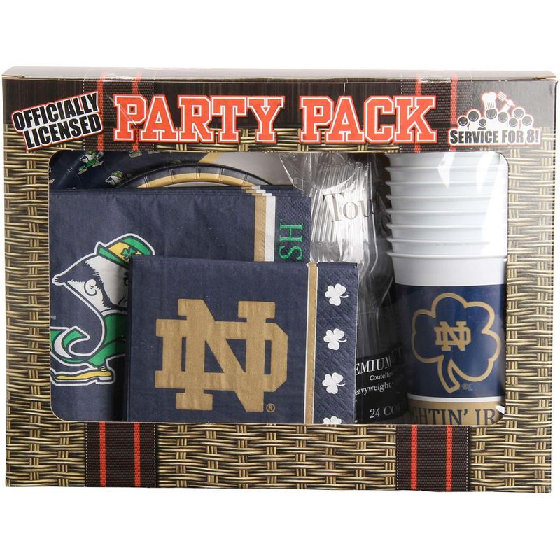 Notre Dame Fighting Irish Game Day Party Pack