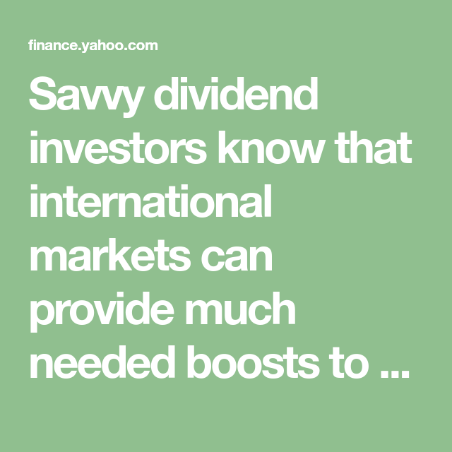 It S Time To Go Global With Real Estate Etfs Dividend Global