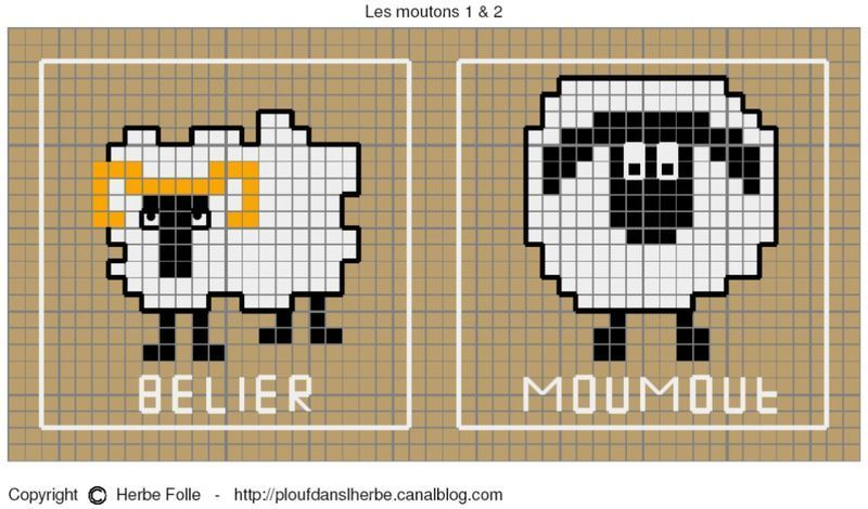 Para hacer punto de cruz | Knitting Chart | Pinterest | Punto de ...