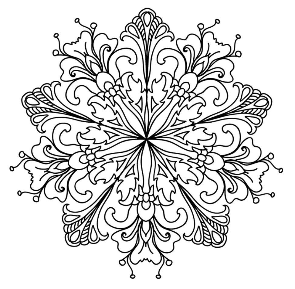 Pin de Fab Bo en Mandalas | Pinterest | Mandalas, Macetas y Colorear