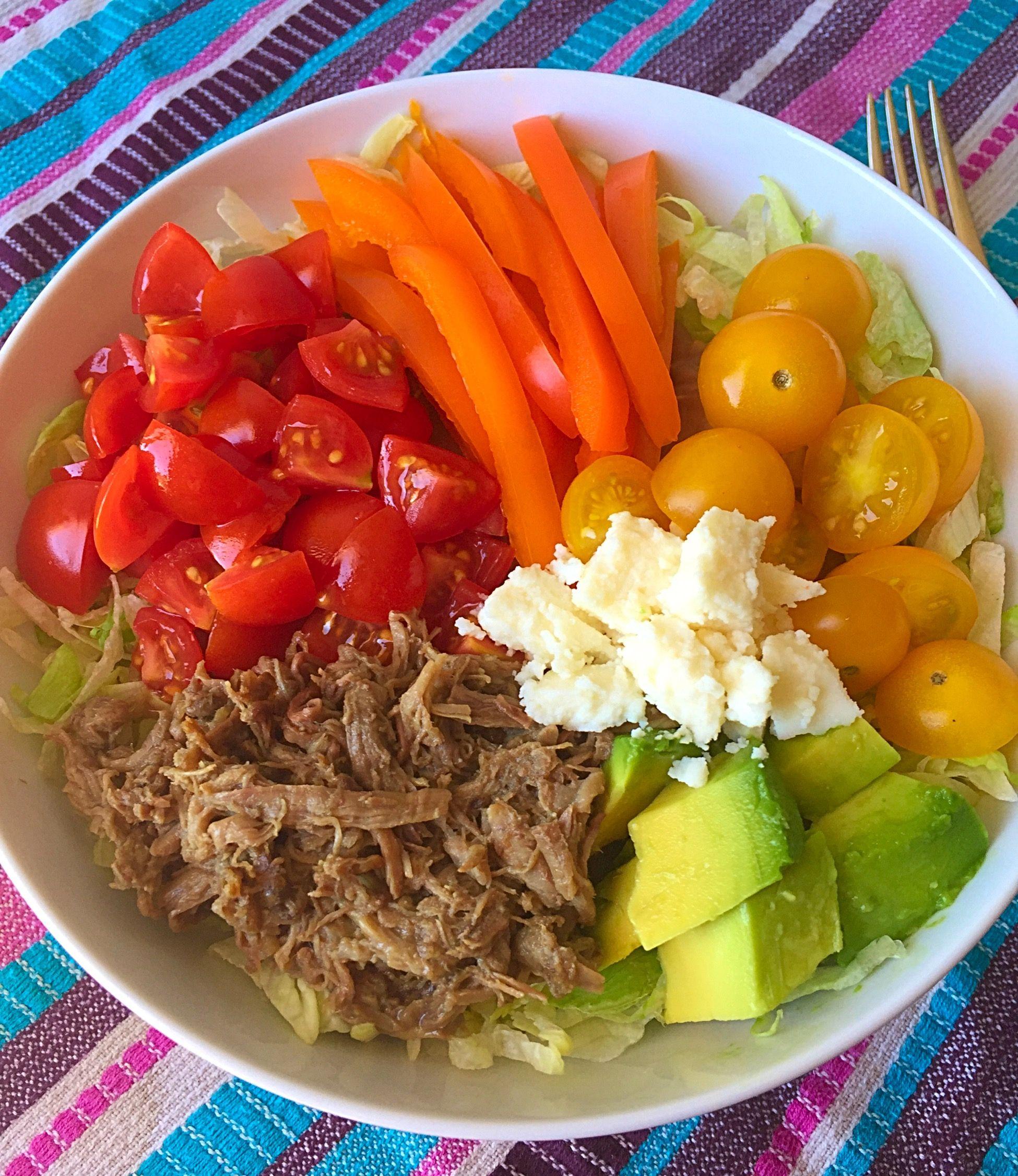 Rainbow Burrito Bowl - easy and delicious! | Gluten free ...