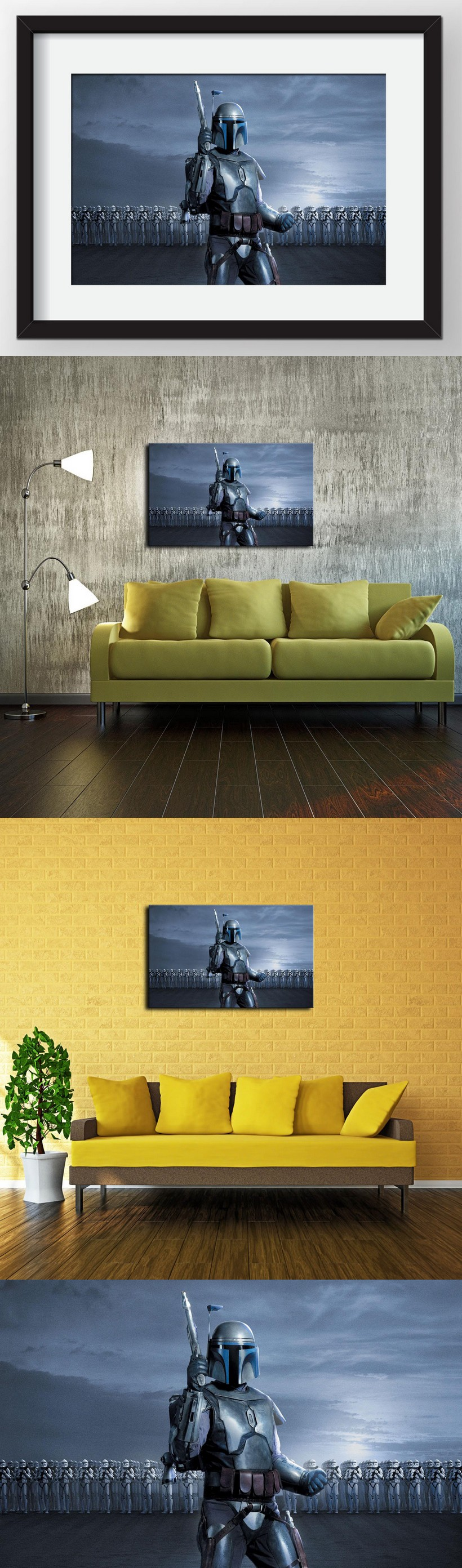 Canvas Prints Wall Art Decorative Painting Western Home Decor Which ...