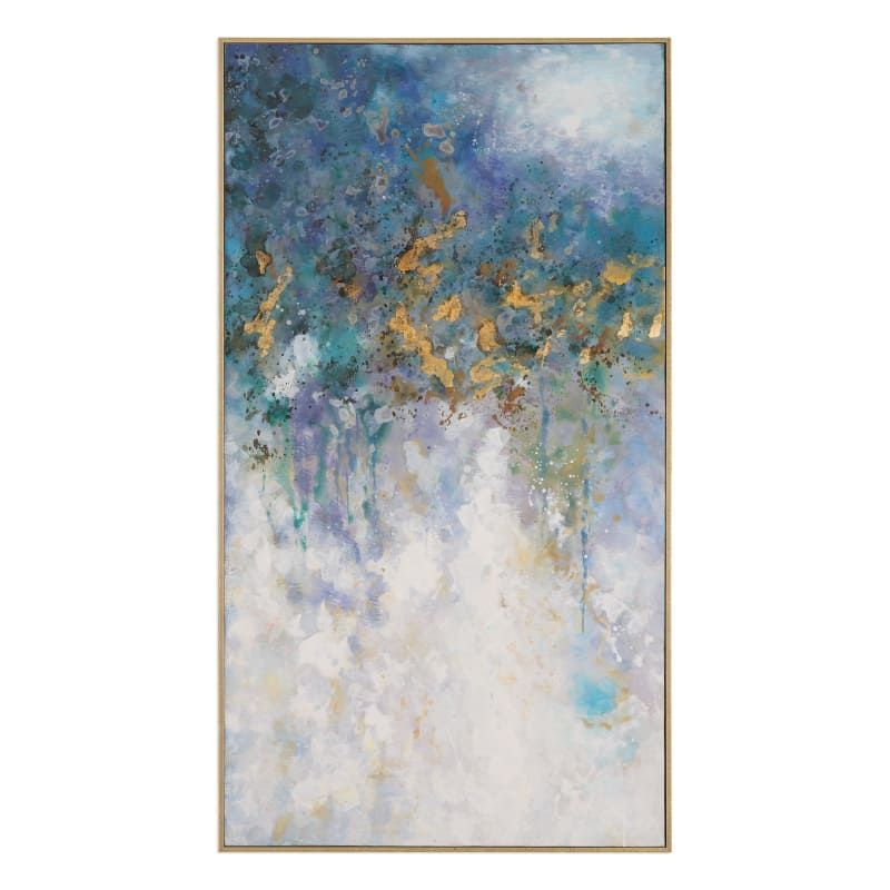 Uttermost 31407 Floating 28 3/4 Inch x 52 3/4 Inch Framed Abstract ...