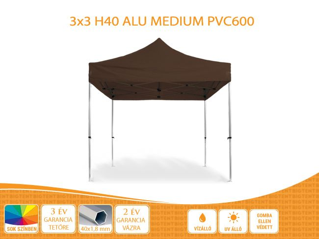 BIGTENT ALU withstands weather conditions and fasteners …