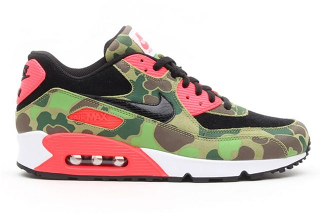NIKE AIR MAX 90 PRM INFRA DUCK CAMO PACK (ATMOS EXCLUSIVE