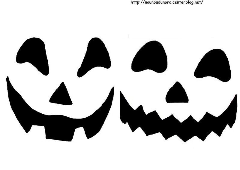 Bouche Citrouille Halloween.Yeux Nez Bouche Pour Citrouille Et Fantome Halloween Deco Bricolage Halloween Halloween Diy