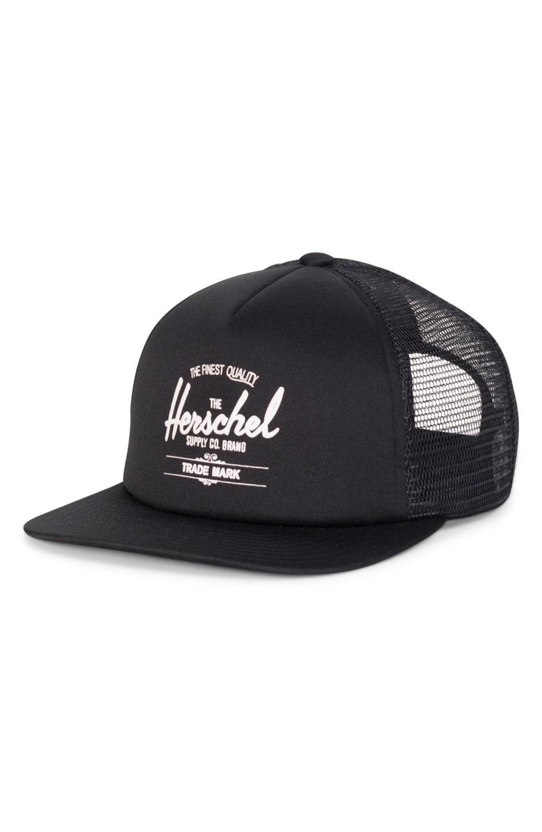 fb71454885f Free shipping and returns on Herschel Supply Co. Whaler Trucker Hat at  Nordstrom.com. Cool mesh panels mean breathable comfort in a classic  trucker hat ...