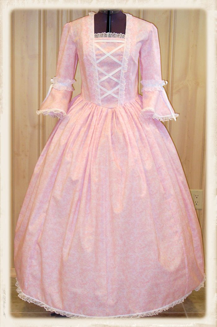 Handmade Civil War Colonial Pioneer Dress Sizes 4-20 | Civil War ...