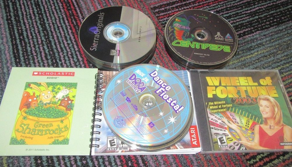 Kids Only Cd.Pin On Video Games