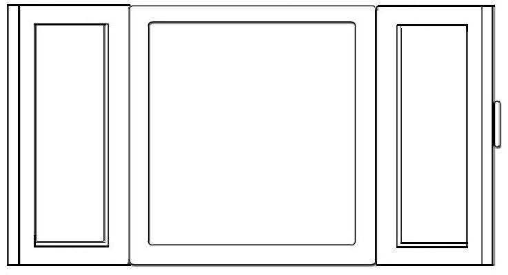Sagome finestre di carta da ritagliare cerca con google - Finestra da colorare ...