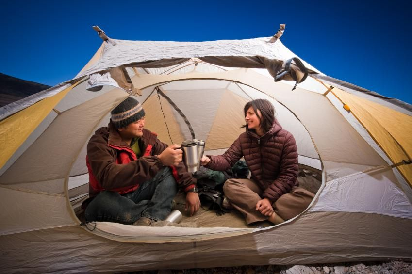 Winter Tent Camping Tips | LoveToKnow